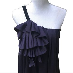 NWT $475 elizabeth & james Dress  Ruffle Floaty